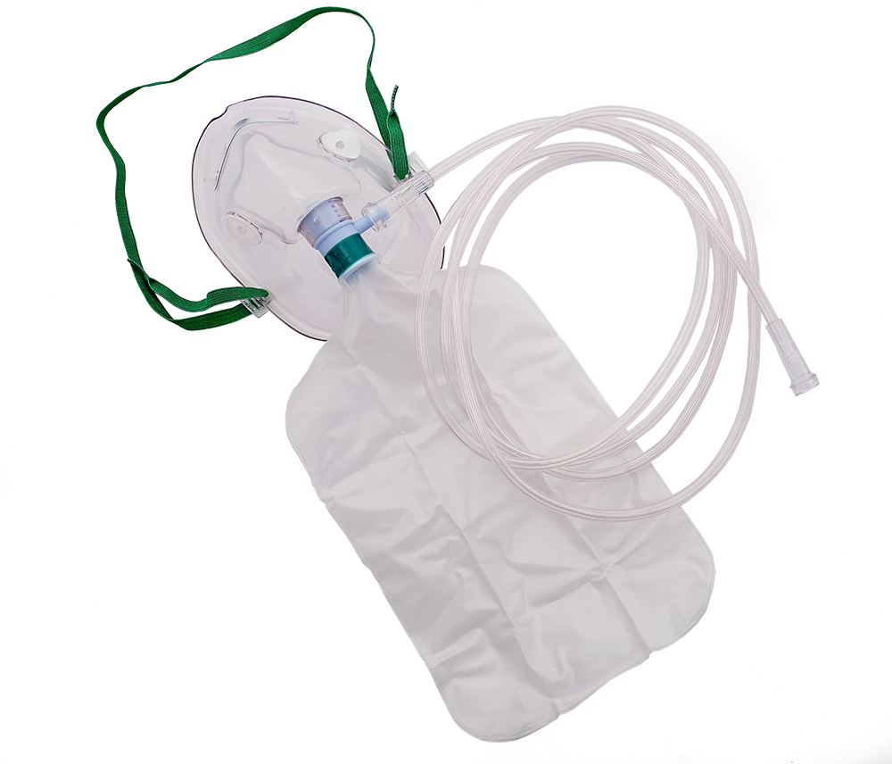 Oxygen Mask with Reservoir Bag Adult