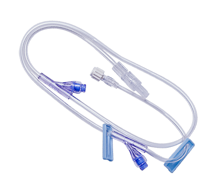 Standard Bore Extension Set - 2 x Needleless Access Site Female Luer Lock to Male Luer Lock and RC