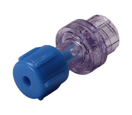 Luer Activated Valve (Blue Cap)